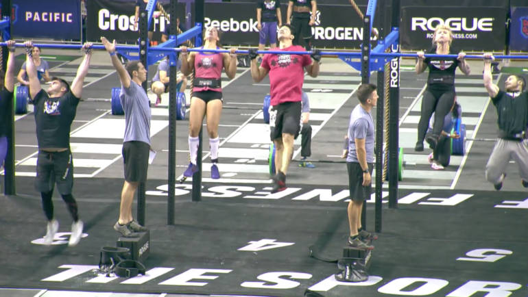 CrossFit Games Pacific  Team EVENT1&2